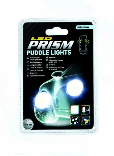 Prism PN1040W 2 Bottoni con LED Bianco Luci Sotto Specchi