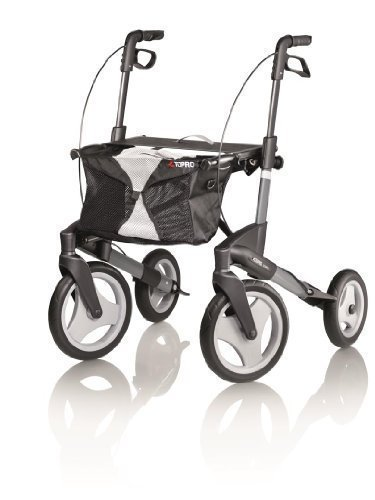 Topro Olympos Deluxe Rollator - 4 Wheeled Outdoor ...