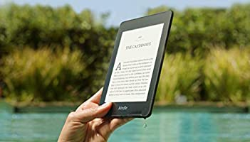 """Kindle Paperwhite   Waterproof, 6"""" High-Resolution Display, 8GB—with Special Offers—Black"""