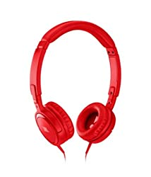 JBL Tempo On-Ear Headphones (Red)