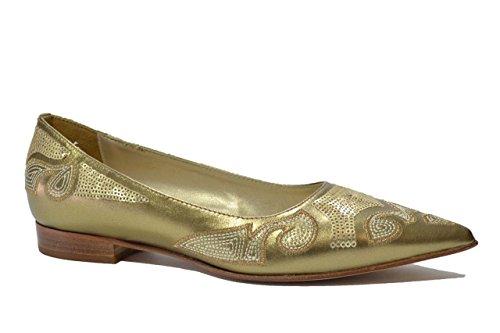 Nero Giardini Ballerine scarpe donna oro 830 35