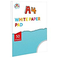 A4 Drawing Pad 50 Sheets of White Paper Childrens Arts & Crafts
