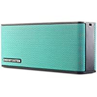 Energy Sistem Music Box B2 - Altavoz portátil inalámbrico (Bluetooth, entrada de audio, manos libres, batería) verde mint