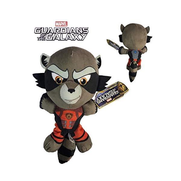 """Marvel Guardianes de la Galaxia - Peluche Rocket Racoon 7'87""""/20cm Calidad Super Soft 1"""