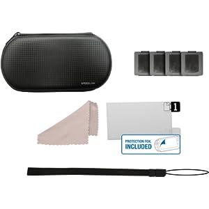 Speedlink Add-On-Kit für die Playstation Vita (Transporttasche, Displayfolie, Spielehüllen uvm.)