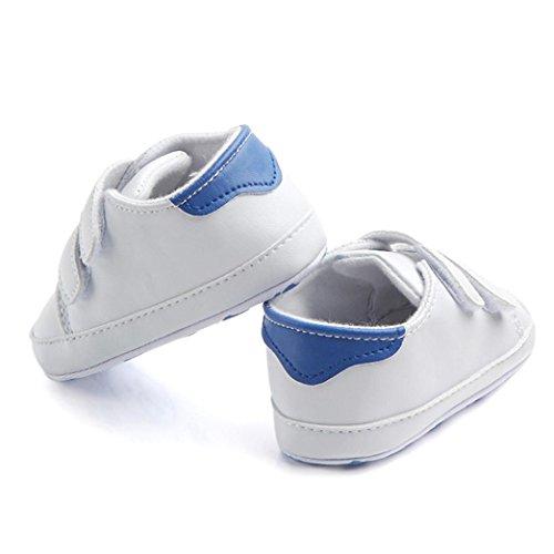 (Mädchen Geschlossene Zehe Sommer Solide Blume Outdoor Sport Casual Sandalen (Kleinkind/Kleinkind) ❤️Kleinkind Jungen Mädchen Bogen Knoten Sandalen Erste Wanderer Schuhe für 0-24 Monate (Blau, 11))