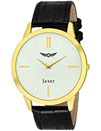 Jaxer White Dial Analog Watch For Men & Boys - JXRM2102