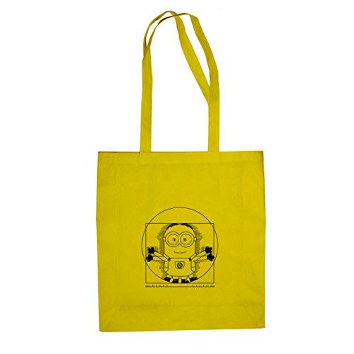 Vitruvian Banana - Stofftasche / Beutel Gelb
