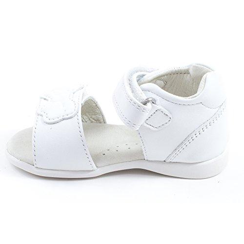 Garvalin 162303, Sandales ouvertes fille Blanc