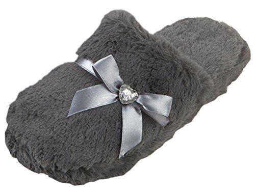 ladies-women-mule-slippers-memory-foam-faux-fur-diamante-indoor-forever-dreaming