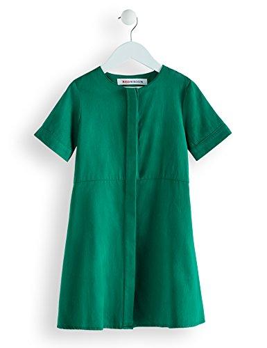 festliche kleider in gruen RED WAGON Mädchen Kleid in A-Linien-Form, Grün (Lust Metal), 134 (Herstellergröße: 9 Jahre)