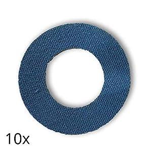 41M5PYOAaHL. SS300  - Freestyle Libre Fixierungstapes (10 Stück) - Navy Blau   Diasticker®