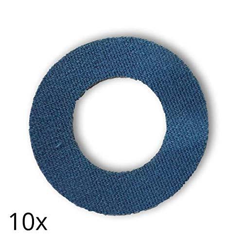41M5PYOAaHL - Freestyle Libre Fixierungstapes (10 Stück) - Navy Blau | Diasticker®