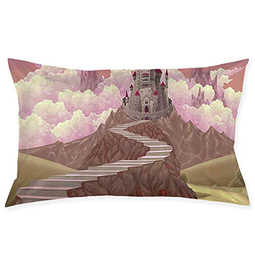 Polar Bears Teddy Crowd Couch Pillow Case Cushion Cover Double-Sided Printing Modern Pillowcase 18X30 Inches Throw Pillow Cases