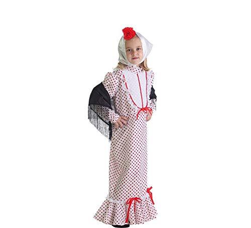 LLOPIS  - Disfraz Infantil chulapa Coral t-l