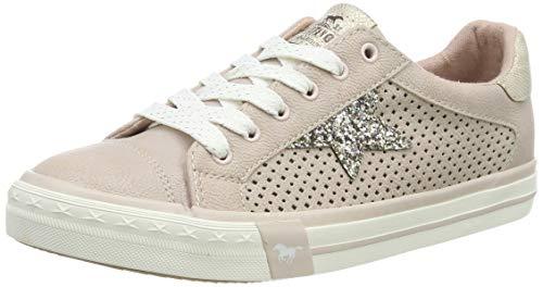 MUSTANG Damen 1146-309-555 Sneaker, Rot (Rose 555), 39 EU