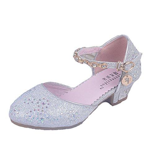 alen Frozen Schuhe Prinzessin Sandalen Sommer Absatz-Schuhe Sandalette (Ist Frozen Für Mädchen)