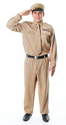 Bristol Novelty AC994 Zweiter Weltkrieg General Kostüm