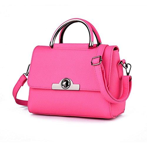 GBT Neue Tendenz-Damen-Handtaschen-Schulter-Beutel rose red
