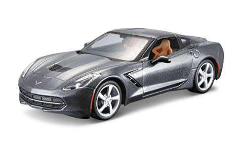 Maisto 1:24 Scale Assembly Line 2014 Corvette Stingray Coupe Diecast Model Kit (Colors May Vary) (1 24 Scale Model Kits)