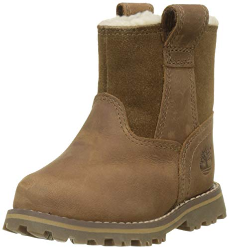 Timberland Unisex-Kinder Chestnut Ridge Warm-Lined Klassische Stiefel, Braun (Light Brown Full Grain P01), 26 EU Timberland Ridge