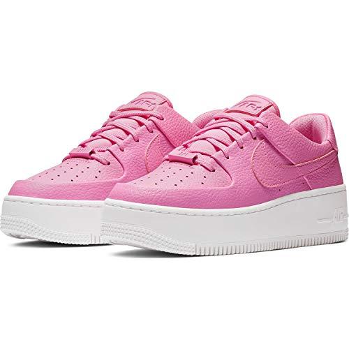 Nike Damen W Af1 Sage Low Basketballschuhe, Mehrfarbig Psychic Pink/White 000, 40.5 EU