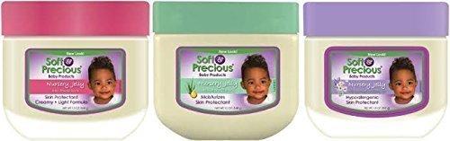 Weiche & Kostbare Baby Kindergarten-gelee TRIO PACK - 3 Verschiedene Baby Vaseline Jelly's -