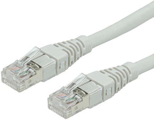 Akord Gigabit Cat6réseau Ethernet RJ45Câble réseau UTP câble de 0.5m à 10m/15m/20m/25M/30m au mètre (10Metre, Gris)