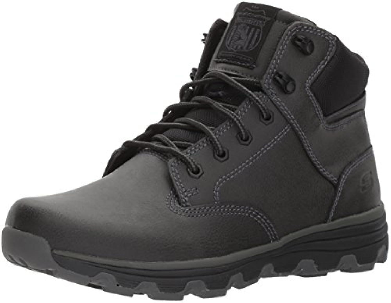 Skechers Herren Format 65156 Blk SneakerSkechers 65156 Schnürboots Textilinnenausstattung Profilsohle Billig und erschwinglich Im Verkauf