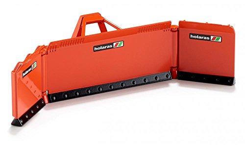 Siku 2467, Maisschiebeschild, 1:32, Metall/Kunststoff, Orange, Ideale Ergänzung Traktoren im gleichen Maßstab