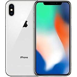 Apple iPhone X - Smartphone con pantalla de 14,7 cm, 64 GB, Plata