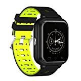 YSCYLY Fitness-Tracker-Smart-Uhr-WiFi-Multifunktions-Wasserdichte IP67 4G 1GB / 8GB Telefon-Support-Herzfrequenz-SIM-Karte für Android 6.0