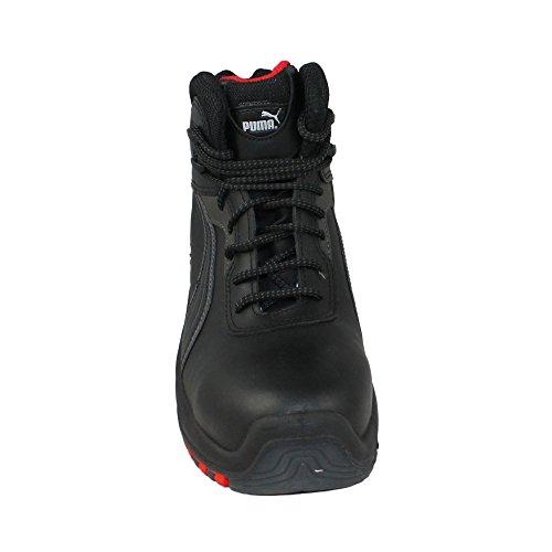 Puma chaussures de sécurité s3 sRC sicherheitsschuh berufsschuhe businessschuhe chaussures de trekking (noir) Noir - Noir