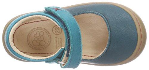 Pololo Pololo Luna, Sandales Bride cheville mixte enfant Bleu - Blau (waikiki 739)