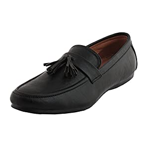 AORFEO Men's Leather Lofers For Men Casual Mens Loafer Shoes LD13