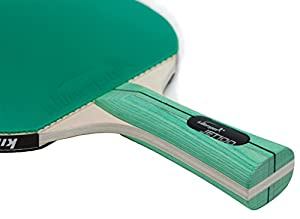 Killerspin JET100 Table Tennis Bat - The Black-and-Green Cobination for Every Ping Pong Beginner Review 2018 from Killerspin