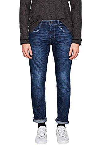 ESPRIT Herren Slim Jeans 127EE2B046, Blau (Blue Dark Wash 901), W31/L32