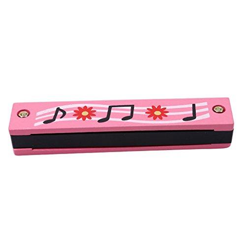 ODN Kinder Mundharmonika Bemalte 16 Loch Harmonika Spielzeug Zufällige Farbe