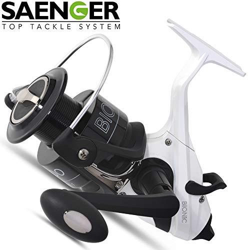 Sänger Bionic XTR-6000 - Karpfenrolle zum Angeln auf Karpfen & Friedfische, Freilaufrolle zum Karpfenangeln, Angelrolle, Rolle