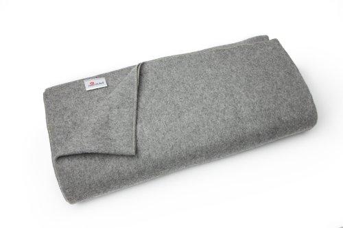 Manduka–Couverture en laine recyclée, - ombra