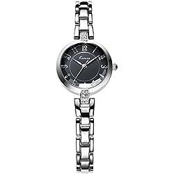 strap watches/Retro art girls watch-Black