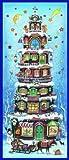 Adventskalender Weihnachts-Pyramide