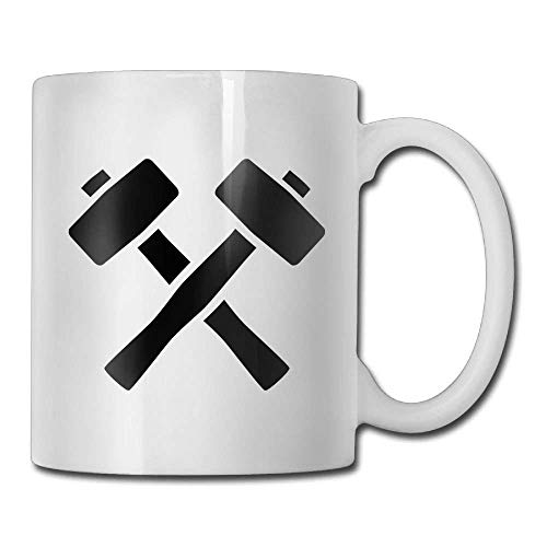 Black Hammer Custom Coffee Mug 11 Oz Men's Classic Ceramic Gifts Tea Cup