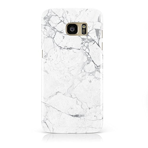 faux-marble-effect-grey-white-mobile-phone-case-cover-for-samsung-galaxy-s7-edge