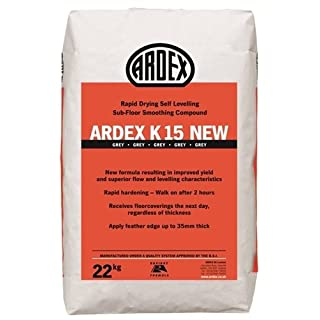 Ardex K15 New Rapid set levelling compound 22kg