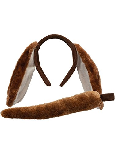 Animal Ears & Tail Set - Dog Kids Unisex Costume