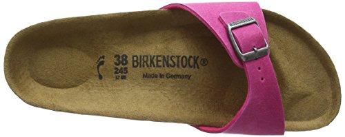 Birkenstock - Madrid Vegan, Ciabatte Donna Rosa (Rosa (Pink))