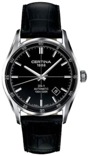 Certina Men's Watch XL Analogue Automatic Leather C006,407,16,051,00