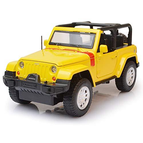 Qaqw simulazione wrangler tenda/copertura in lega modello di auto per bambini suono e luce tirare indietro giocattolo modello di auto ornamenti