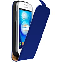 mumbi Flip Case für Samsung Galaxy Trend Lite Tasche blau